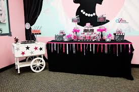 hollywood glam birthday party u2013 a to zebra celebrations