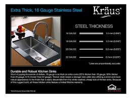 faucet com khu102 33 kpf1612 ksd30ch in stainless steel chrome black