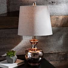 Mercury Glass Table Lamp Rose Gold Mercury Glass Table Lamp Glass Tables Mercury And