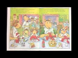 arthur s thanksgiving book arthur s family vacation read by mari