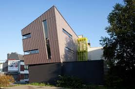 bureau d architecture references vmzinc bureau d architecture aaeg liège belgium
