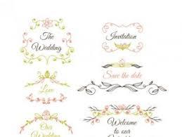 and wedding ornaments free vectors ui