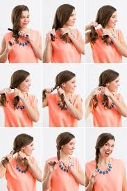 step by step hairstyles for long hair with bangs and curls 5 hairstyle for long hair step by step