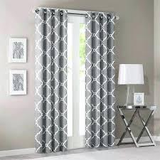 grey geometric curtains white geometric curtains large size of