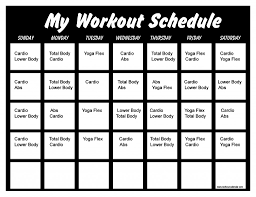 winsor pilates dvd workout schedule workout schedule