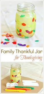 thanksgiving crafts and activities for thankful jar buggy
