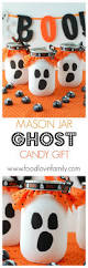 Halloween Candy Jar by Mason Jar Ghost Candy Gift Gift And Craft