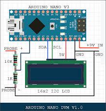 nano digital volt meter codrey electronics