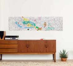 papier peint a colorier frise à colorier 4 saisons 180 x 50 cm