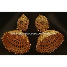 Chandelier Earrings India India Gold Plated Jewelry Chandelier Earrings Manufacturer Gold