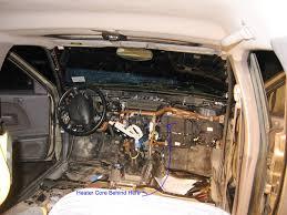 nissan frontier engine swap heater core replacement nissan xterra forum