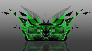 Lamborghini Murcielago Green - 4k lamborghini murcielago back abstract transformer car 2014 el tony