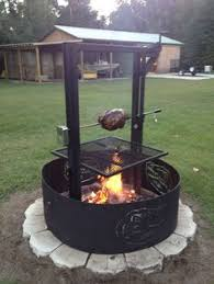 Fire Pit Rotisserie by Fire Pit Electric Insert Rotisserie Kit Turns Your Food For You So