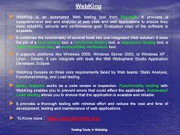 testing tools u003e silktest ppt video online download