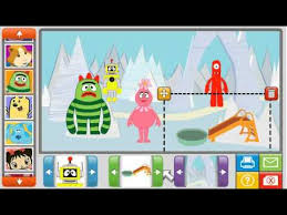 nick jr sticker picture fun review game yo gabba gabba