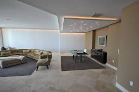 interior creative false ceiling lights in gypsum board design and