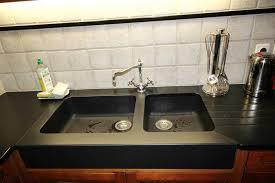 evier cuisine granit noir cuisine granit noir avec évier massif 10 15 granit