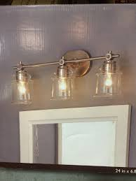 0612659 3 light lowes allen and roth winbrell yellow lighting