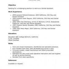 dental assistant resume template free resume templates for dental assistant archives gotraffic co