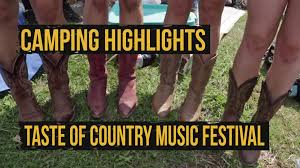 2015 taste of country music festival day 1 camping highlights