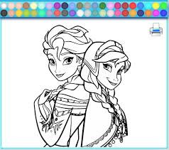 coloring pages excellent frozen coloring game 1505352374 pages