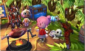 Home Design Game Help There U0027s A Monster Hunter Crossover In Animal Crossing Happy Home