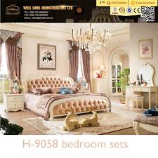 bedroom luxury classical solid wood white bedroom furniture