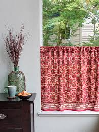 Shower Curtains With Red Indian Print Shower Curtain Floral Shower Curtains Ethnic Shower