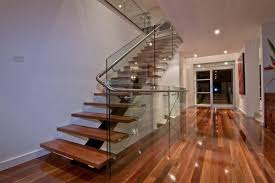 Glass Stairs Design 20 Wood And Glass Contemporary Staircase Designs Home Design Lover