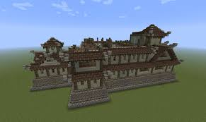 oriental style castle mansion finished screenshots show