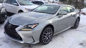 lexus sports car gs new atomic silver 2015 lexus rc 350 2dr cpe awd f sport series 2