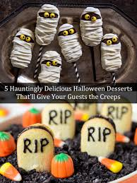 5 haunting halloween desserts you need to try this year
