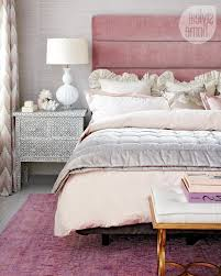 Pink And Gold Bedroom by Square Technology Led Tv Feminine And Modern From Pink And Gold