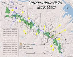 River Maps Usa by Refuge Map Clarks River U S Fish And Wildlife Service