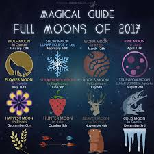 magical recipies online magical guide to full moons of 2017