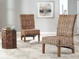Wicker High Back Dining Chair Living Room High Back Upholstered Living Room Chairs 3 Modern New