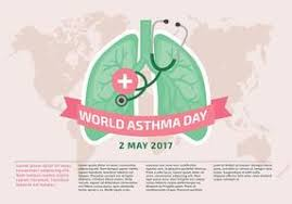 asthma infographic elements download free vector art stock