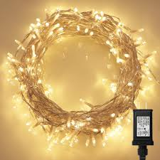 Fairy Lights Amazon Amazon Com 200 Led Indoor String Light With Remote And Timer On