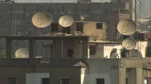 satellitensch ssel f r balkon satellitenschuessel stock framepool rightsmith stock