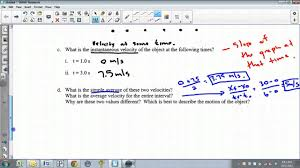 constant acceleration worksheet youtube
