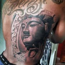 60 dashing buddhist tattoos on back