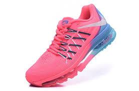light pink nike air max nike air max 2015 womens running shoes light pink blue 698903 614 uk