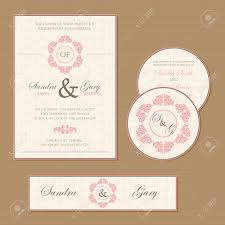 Invitation Cards Of Marriage Beautiful Vintage Wedding Invitation Cards Royalty Free Cliparts