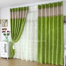 Green Bedroom Curtains Gorgeous Design Ideas For Chenille Curtains Silver Bedroom
