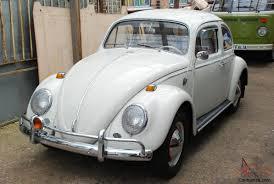 volkswagen beetle 1960 1964 beetle saloon lhd 1200cc white mot u0027d with accessories u0026 original