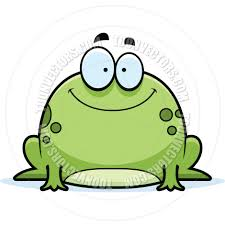 cartoon little frog smiling by cory thoman toon vectors eps 4218