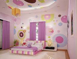 beautiful girls bedroom paint ideas polka dots painting intended