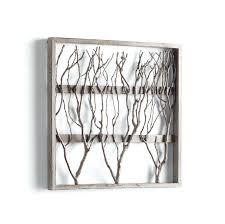 twig home decor decor with twig twigs framed wood wall decor by cyan design home