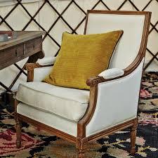 chinon classic armchair antiqued oak frame oka