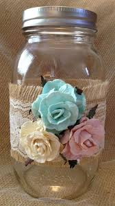 Mason Jar Vases Wedding 386 Best Mason Jar Wedding Images On Pinterest Country Barn